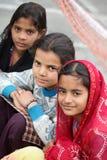 青少年的女孩 免版税库存照片