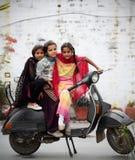 印第安语的女孩 库存照片
