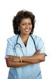 ελκυστικό θηλυκό γιατρώ& Στοκ Φωτογραφίες