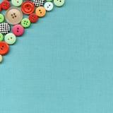 ύφασμα κουμπιών Στοκ εικόνες με δικαίωμα ελεύθερης χρήσης