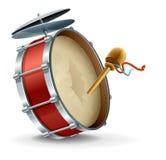 大鼓仪器 免版税库存图片