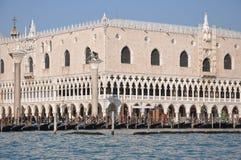 Венеция, герцогский дворец Стоковые Фотографии RF