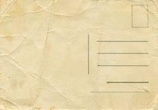 античный столб карточки Стоковое Изображение