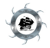风帆船 图库摄影