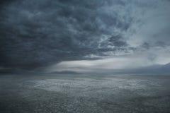 多暴风雨的天气 库存图片