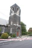 残破的教会 库存照片