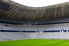 пустой футбольный стадион Стоковые Фотографии RF