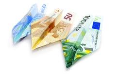 发单欧元 免版税库存照片