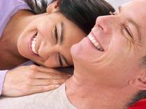 взрослая влюбленность средняя Стоковые Фотографии RF