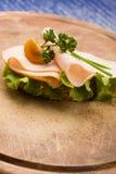 φέτα Τουρκία ψωμιού Στοκ φωτογραφία με δικαίωμα ελεύθερης χρήσης