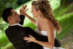 舞蹈婚礼 库存照片
