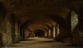 地下墓穴 库存图片