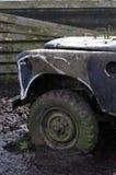 平面的轮胎 库存照片
