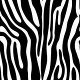 无缝动物的打印 库存照片
