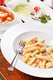 обед вкусный Стоковая Фотография RF