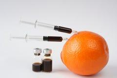 橙色皮肤 免版税库存图片
