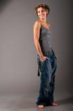 时髦的女人 免版税图库摄影