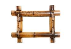 竹框架照片 免版税库存照片