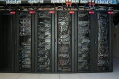 положите сервера на полку Стоковое Изображение