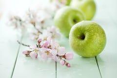 苹果绿色 免版税库存图片