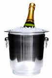 香槟冰 免版税库存照片