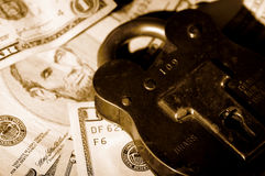 οικονομική ασφάλεια Στοκ Φωτογραφίες