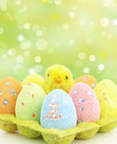 αυγά Πάσχας Στοκ Φωτογραφίες