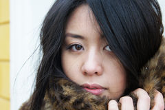 亚裔女孩 库存照片