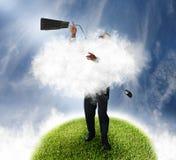 τεχνολογία σύννεφων Στοκ φωτογραφία με δικαίωμα ελεύθερης χρήσης