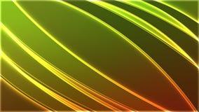 发光的背景绿色 免版税库存图片