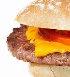 сыр бургера Стоковое Изображение RF