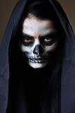 мертвая готская женщина портрета Стоковое фото RF