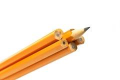 铅笔锐利 免版税库存照片