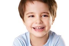 孩子笑 免版税图库摄影