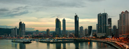 город Панама Стоковые Фото