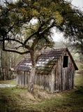 деревянное амбара малое Стоковые Изображения