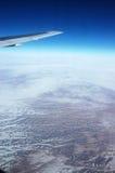 воздушное путешествие Стоковые Изображения RF