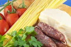 τρόφιμα ιταλικά Στοκ εικόνες με δικαίωμα ελεύθερης χρήσης