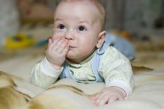 μωρό ευτυχές Στοκ Εικόνα
