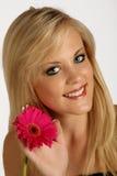 κυρία λουλουδιών Στοκ Εικόνες
