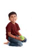 男孩印地安人 库存图片