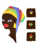 африканская женщина Стоковые Изображения
