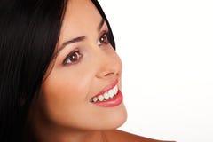 γυναίκα χαμόγελου Στοκ Εικόνες
