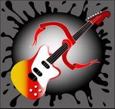 κιθάρα Στοκ εικόνα με δικαίωμα ελεύθερης χρήσης