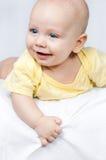 新出生的婴孩 库存图片