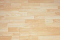 Деревянный пол в коттедже Стоковое Изображение RF