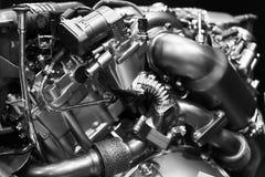 柴油引擎 库存图片