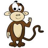 обезьяна шаржа Стоковое Изображение