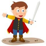 迷人的矮小的王子 免版税库存图片