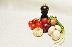 συστατικά τροφίμων Στοκ Εικόνα